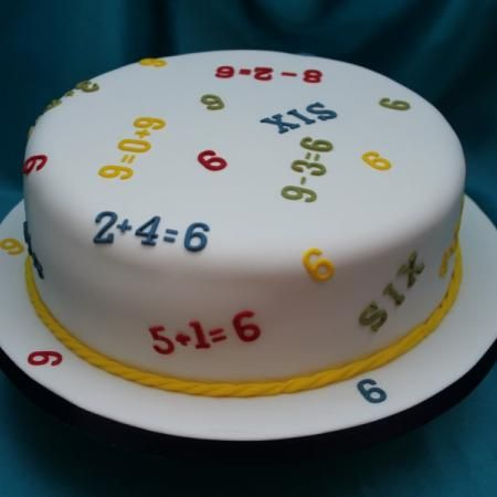 incredible LED birthday cake toppers for 50th birthday | Sums And Numbers 6 Th Birthday Cake