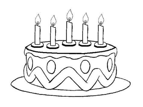 Maestra de Infantil: Los números del 1 al 5. Tartas de cumpleaños.