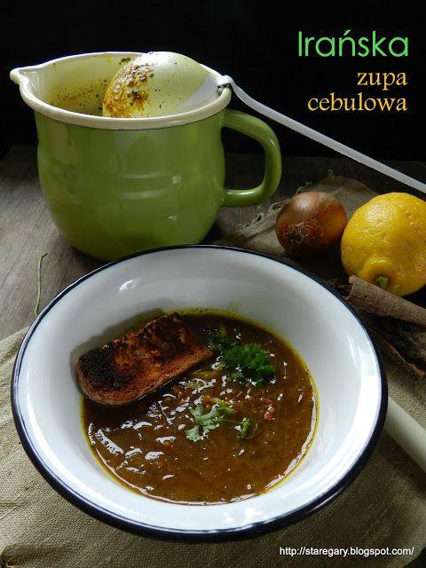 Stare Gary: Zupa cebulowa (irańska)