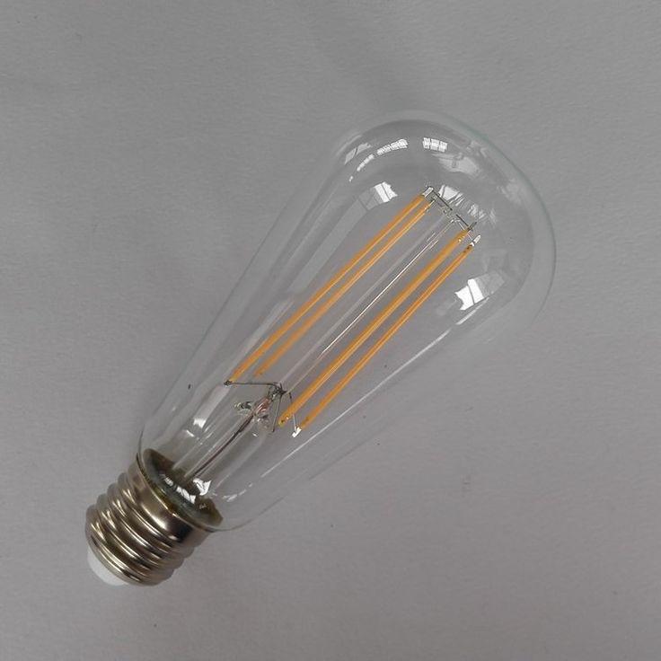 ST64 4W Edison Dimmable Long Filament Led Bulb