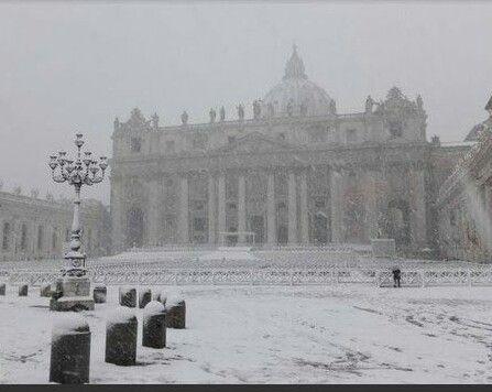 Neve a Roma 2018