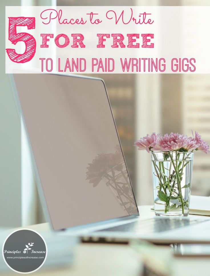 She has some good tips on breaking into freelance writing here. I should try this!