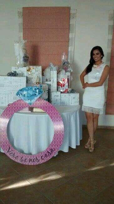 Mesa para despedida de soltera