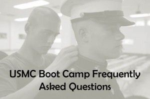 Marine Corps Frequently Asked Questions (FAQ) about boot camp for the USMC. Are you a parent, girlfriend or wife of a future Marine? Check out our guide.