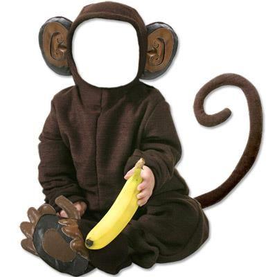 Костюм обезьяны для photoshop