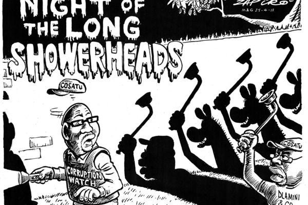 Zapiro: Night of the long showerheads