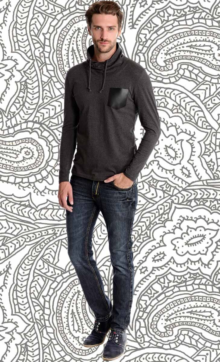 Mavango Sports Grey Round Neck Tee | Mavango Fashion eStore