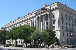 Architect - My great grandfather, Milton Bennett Medary Jr. - The Robert F. Kennedy Department of Justice Building in DC