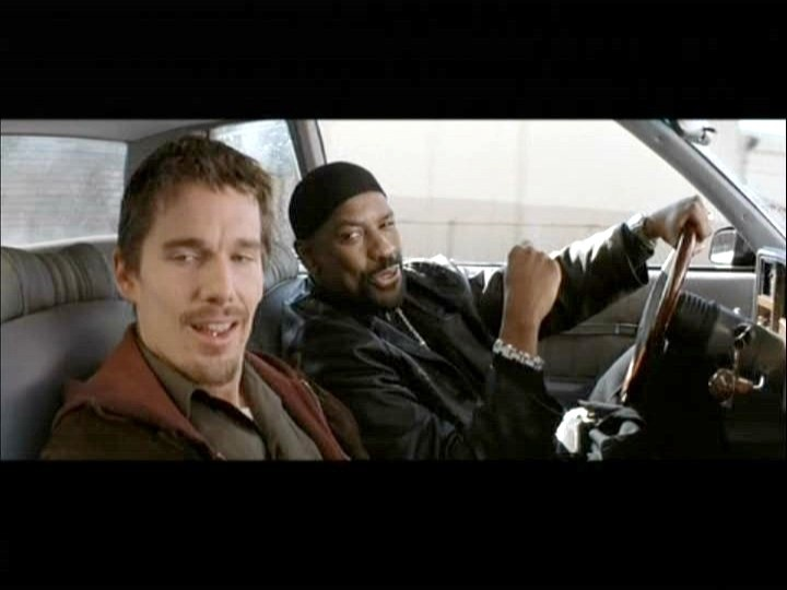 Denzel is Cool..., but not cooler than his character (Alonzo Harris) in Training Day.