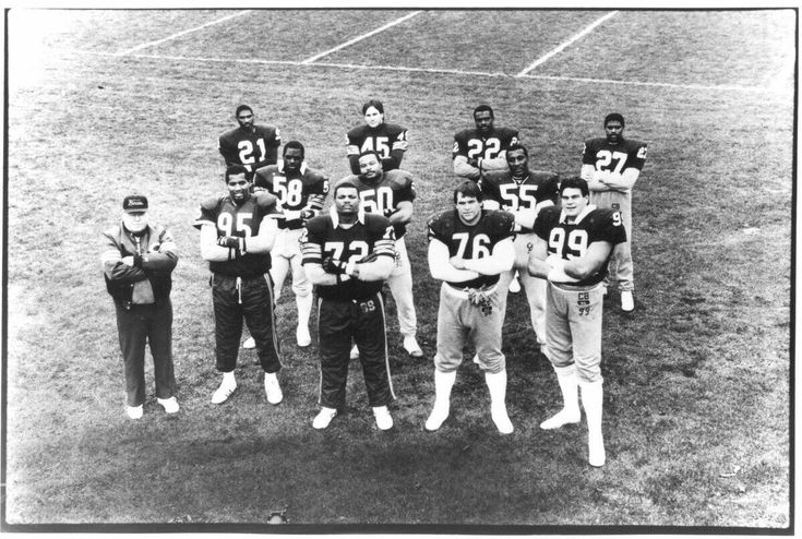 The GREATEST defense of ALL-TIME! The 1980's Chicago Bears. In 1984 they broke the single season QB sack record which STILL stands today (72). In 1986 they held their opponents to a record low 186 points during a season (broken by 2000 Ravens). In 1987 th https://www.fanprint.com/licenses/chicago-bears?ref=5750