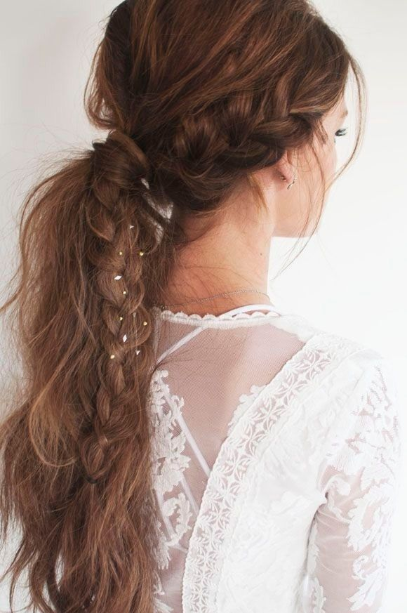 Ponytail Hairstyles For Long Hair 709 Best Hair Styles For Girls Images On Pinterest  Curls Hair
