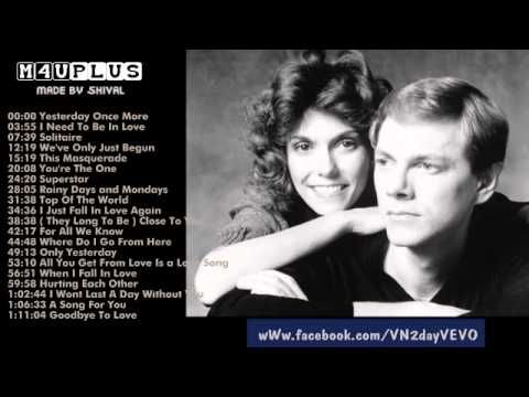 ▶ The Carpenters's Greatest Hits | Best songs of The Carpenters - YouTube