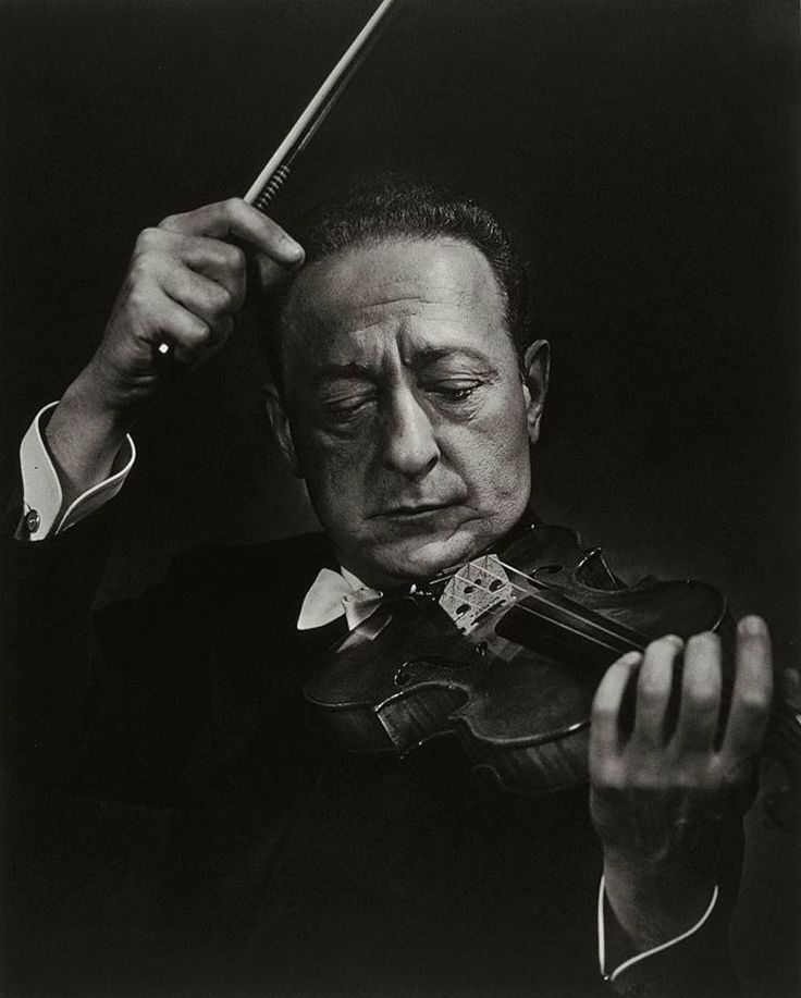 Yousef Karsh , Jascha Heifetz - Lithuanian born, Jewish-American violinist: Feb. 2 1901 - 1987… Where Kreisler was all about emotion and tone, Heifetz was all about technique and mastery of every little detail of...