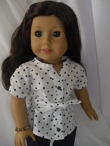 american girl doll shirt idea