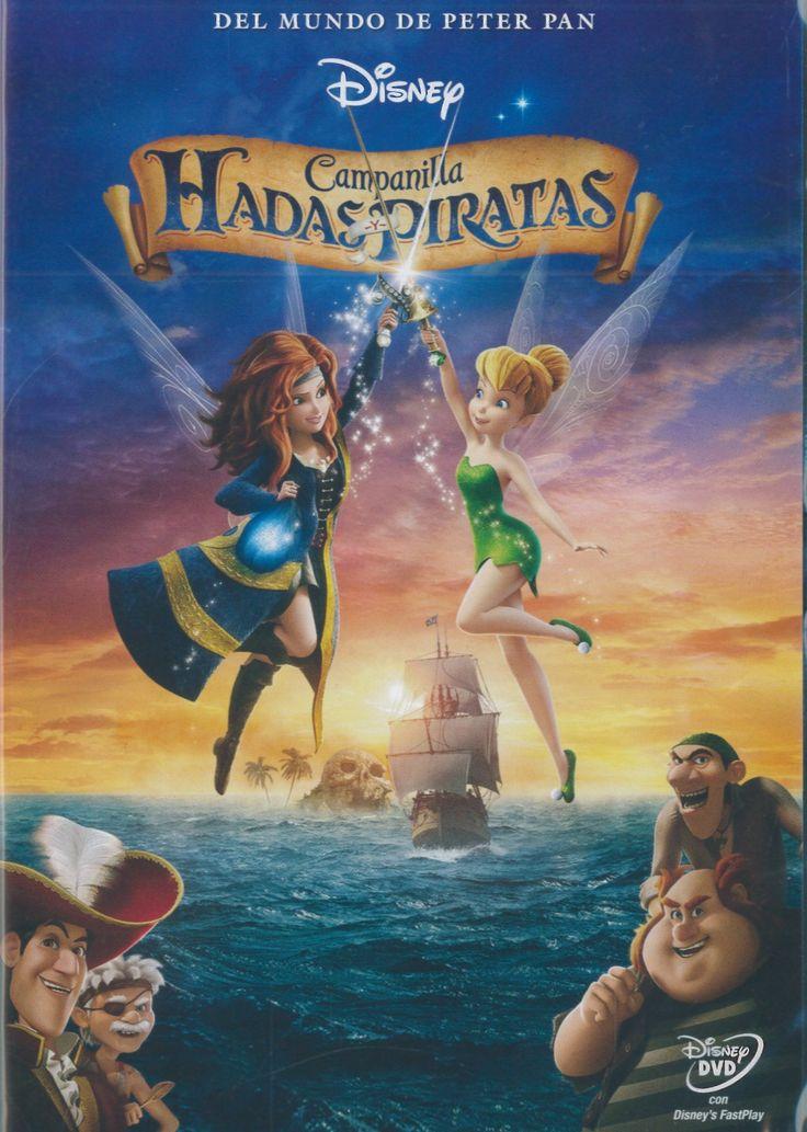 Campanilla Hadas y Piratas (DVD)(Walt Disney)