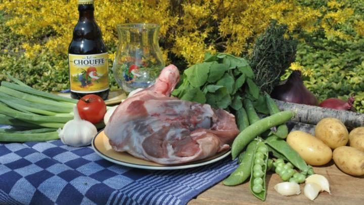 Recept: Lamsschouder in kaboutertjes bier http://brabantn.ws/58I