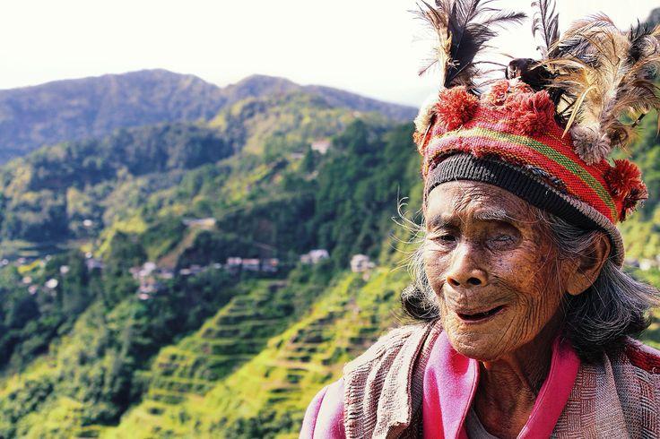 De Ifugao leven in het bergachtige noorden van de Filipijnen op het eiland…