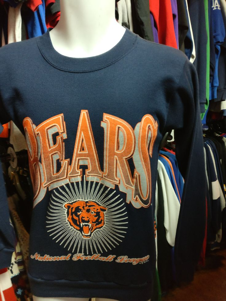 Vintage '92 CHICAGO BEARS NFL Tultex Sweatshirt S  Now available!! Vintage '92 CHICAGO BEARS NFL Tultex Sweatshirt S