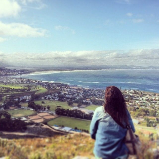 Checking out the awesome view #easterweekend #hermanus #100happydays
