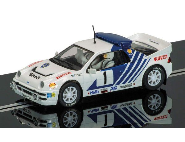 Ford RS200 Slot Car