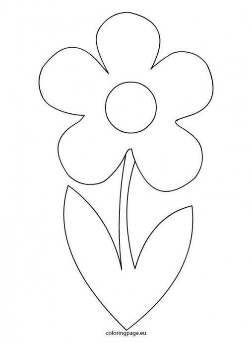 Best 25 flower template ideas on pinterest paper flower for Preschool flower crafts templates