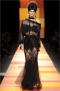 Jean Paul Gaultier - click on the photo and flip through complete collection on Vogue.it
