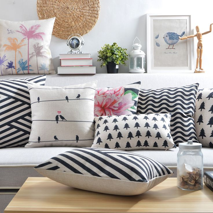 Scandinavian Style Cushion Covers Geometric Throw Pillow Covers Shabby Chic Cushions Home Decoration Nordic Style Couch Throws-in Cushion Cover from Home & Garden on Aliexpress.com | Alibaba Group