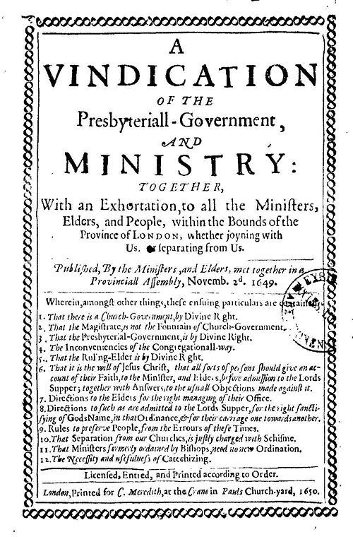 A Vindication of the Presbyteriall-Government and Ministry books reviews and downloads ebooks on   http://www.bookchums.com/free-ebooks/a-vindication-of-the/NjA0NDY=.html