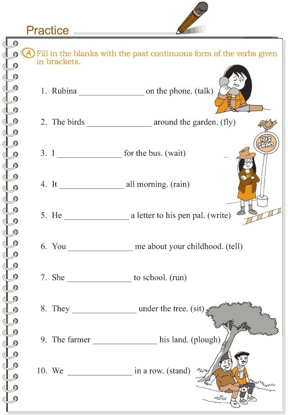 Grade 3 Grammar Lesson 10 Verbs - the past continuous ...