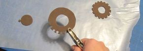 Steampunk Paper Top Hat - includes how to make gears from foam
