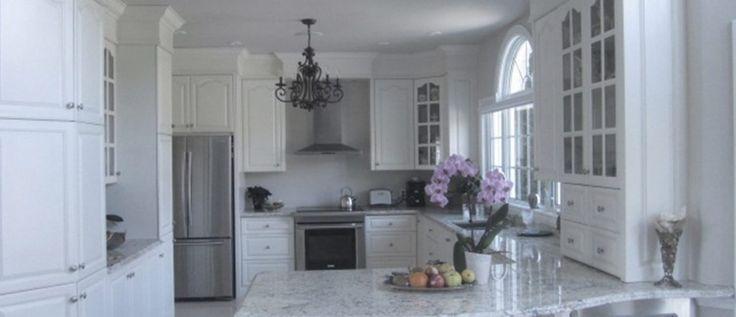 A nice white kitchen