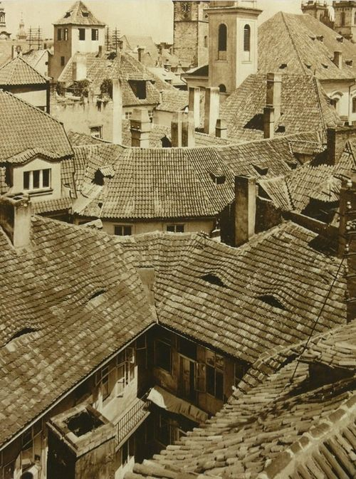 Old Prague, 1930's,