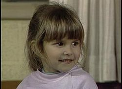 Judith Eva Barsi (June 6, 1978 – July 25, 1988) child actress. She began her career in television, making appearances in commercials and in television shows, and later appeared in the films Jaws: The Revenge and The Land Before Time and All Dogs Go To Heaven, supplying the voice for animated characters in the latter two. In 1988, after years of physical and mental abuse, her father, József, shot and killed Judith and her mother Maria in a double murder–suicide.