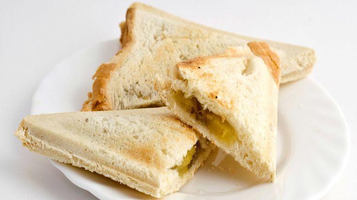 Süße Idee: Bananen-Zimt-Toast für den Sandwichmaker