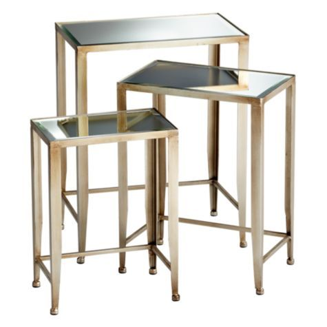 Melrose Nesting Tables From Z Gallerie Great Solution For