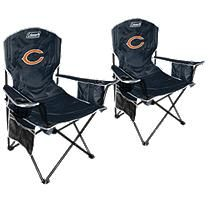 NFL Chicago Bears Cooler Quad Chair 2 pack