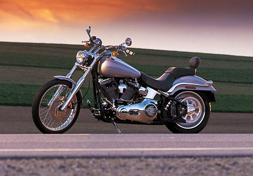 The FXSTD Softail Deuce is introduced to the immediate delight of riders and the motorcycle media. | Harley-Davidson 2000