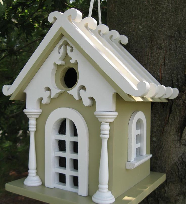 Fairy Cottage  Bird House http://www.plowhearth.com/fairy-cottage--bird-house_p416675.html
