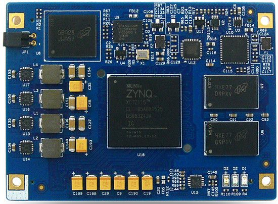MYIR has launched a COM that runs Linux on a Zynq-7015 ARM/FPGA SoC, and mounts on a carrier with USB, GbE, HDMI, PMOD, and FMC I/O.