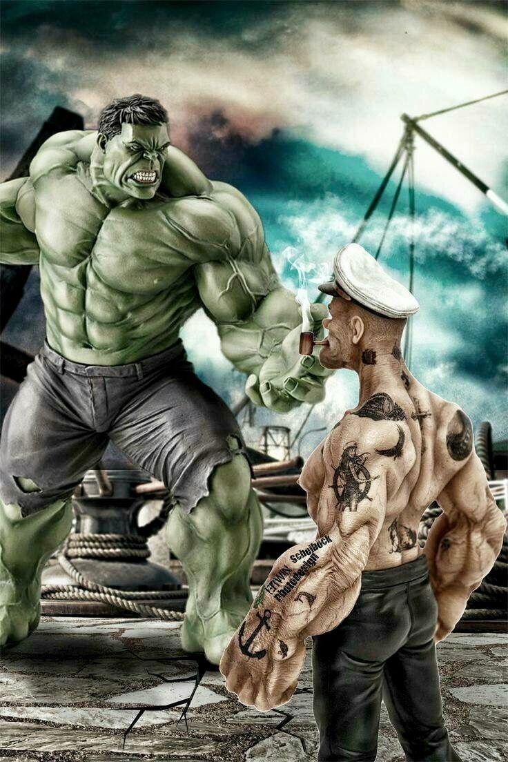 Смешные картинки моряк папай, работе