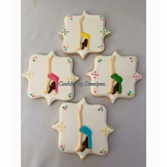 Gymnastics cookies - gymnastics competition - gymnastics themed party…