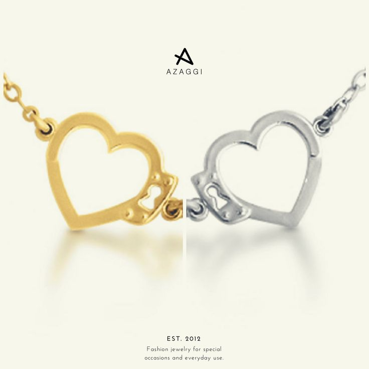 #PiecesOfLove. 30% OFF on selected products. More at azaggi.com. #handcuffs #hearts #necklace #fashion #jewelry #bijoux #bijouxlovers #premium #moda #instafashion #fashionaddict #deal #shoppingtime #fashionista #glam #indulge #relationshipgoals #lovers #soulmates #crazy4you #love #4ever #ValentinesDay #BeMyValentine #ValentinesDayDeals #ValentinesDayGift #giftforher #giftsforher