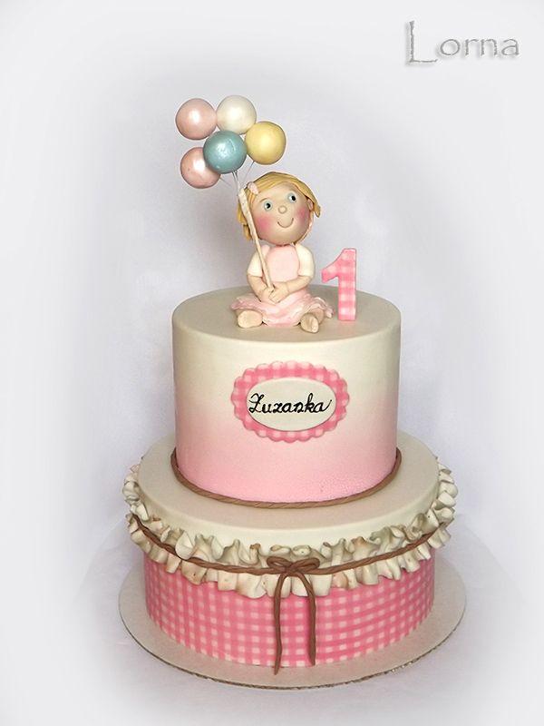 Narodeninové torty pre dievčatá