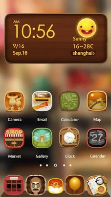 many new themes for hola launcher users