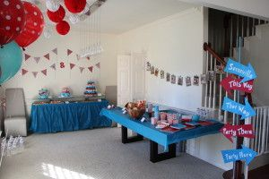 Twins' 1st birthday party