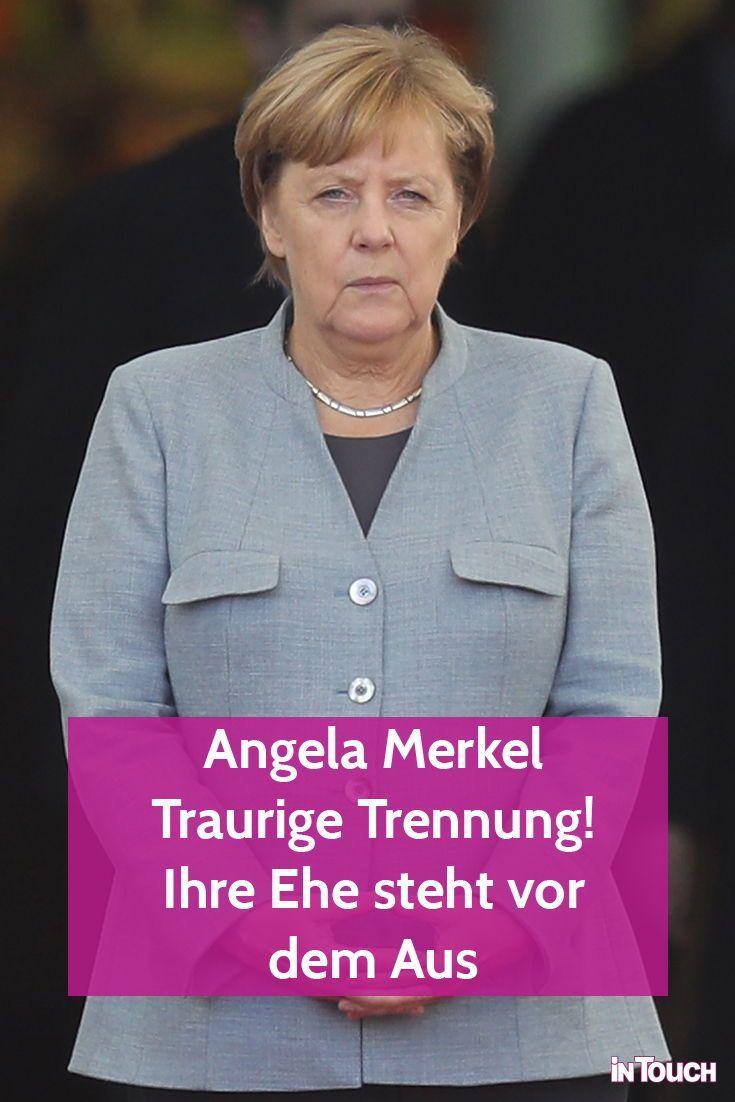 Merkel getrennt angela Was steckt