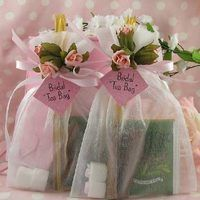 Tea bag party favors are a popular way to send your bridal or baby shower guests home with a little something. Although you can buy tea bag favors from different places, they are easy to make.
