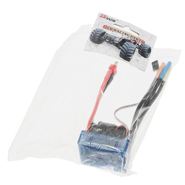 Description: Brand: JLBItem: EA1063Quantity: 1pcsUsage: For JLB Racing CHEETAH 1/10 Brushless RC Car Truggy 21101Package Includes: 1 X ESC