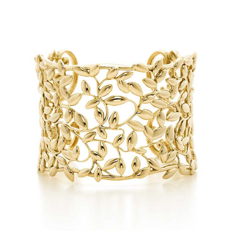 Tiffany Olive Leaf Ring Rose Gold