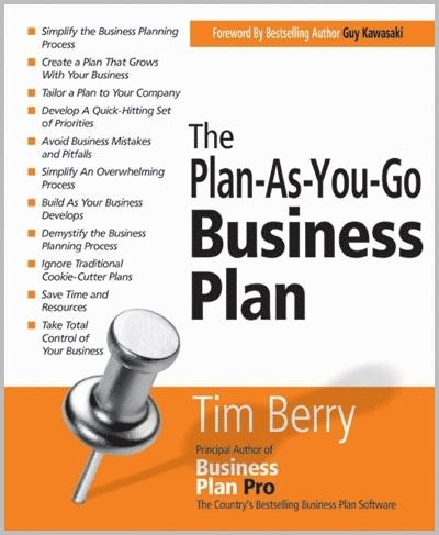 Fantastic business plan advice; start with a lean plan, then update it along the way, business changes to regularly these days for super long, detailed plans.; and create the elements for bankers/investors only once needed;